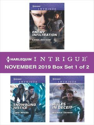 cover image of Harlequin Intrigue November 2019, Box Set 1 of 2